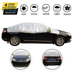 OMIGAO Windshield Snow Cover, Half Car Cover