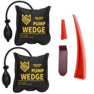 Seven Sparta Air Wedge Pump Kit, 2 PCS Air Wedge Bag