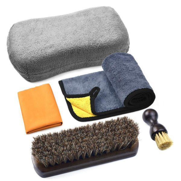 Leather Cleaning and Care Tool Kit, Used with Leather Seat