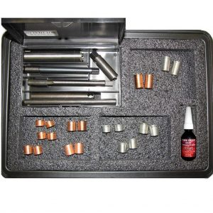 M14x1.25 Spark Plug Thread Repair Kit with Assorted Length Inserts